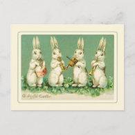 Vintage Easter Holiday Postcard