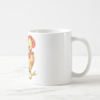Vintage Easter Image Classic White Coffee Mug