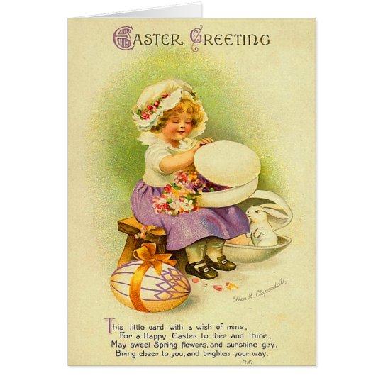 Vintage Easter Kids Card