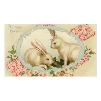 Vintage Easter Mini Doodle Greeting cards Double-Sided Standard Business Cards (Pack Of 100)