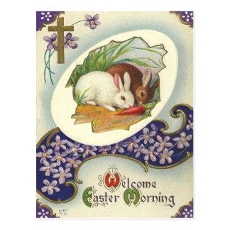 Vintage Easter Morning Postcard