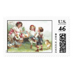Vintage Easter Party Postage