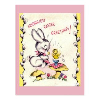 Vintage Easter Postacrd Postcard