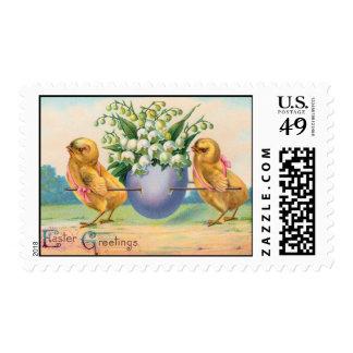 Vintage Easter Postage Stamp