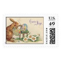 Vintage Easter  Postage stamps