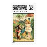 Vintage : easter - postage stamps