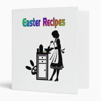 Vintage Easter Recipe Book Binder