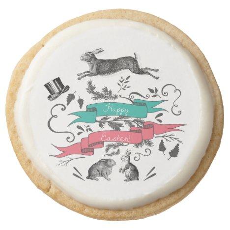 Vintage Easter Shortbread Cookies