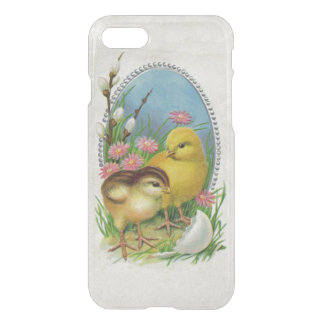 Vintage Easter Spring Baby Chicks Flowers iPhone 8/7 Case