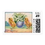 Vintage Easter Stamp