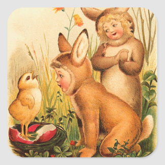 Vintage Easter Stickers