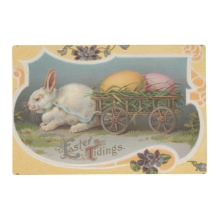 Vintage Easter Tidings Placemat at Zazzle