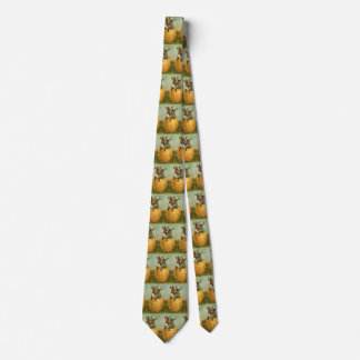 Vintage Easter, Victorian Bunnies in an Egg Tie