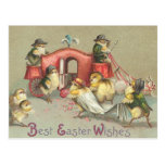 Vintage Easter Wedding - Carriage Post Card