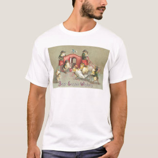 Vintage Easter Wedding - Carriage T-Shirt