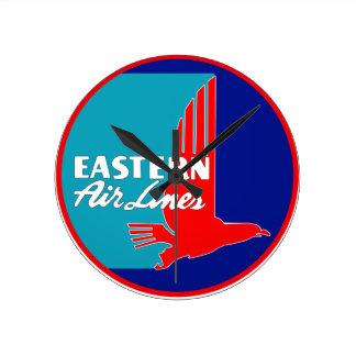 Vintage Eastern Airlines Wall Clock