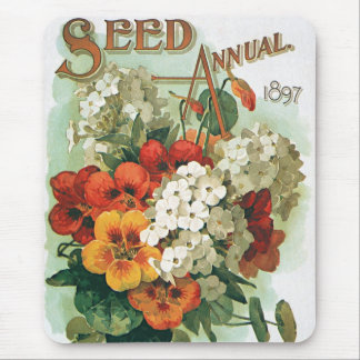 Vintage Eastman's Seed Catalog Cover Art, 1897 Mouse Pad