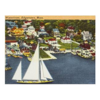 Vintage Edgartown Postcard
