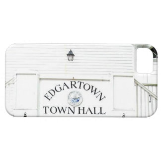 Vintage Edgartown Town Hall iphone 5/5s iPhone SE/5/5s Case