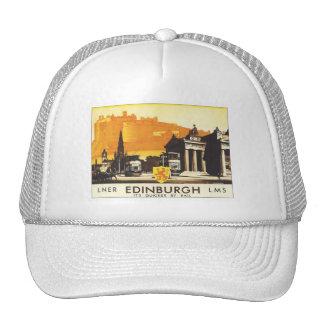 Vintage Edinburgh LNER Hats