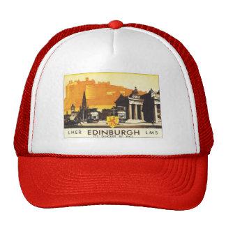 Vintage Edinburgh LNER Trucker Hats