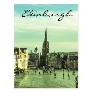 Vintage Edinburgh Postcard