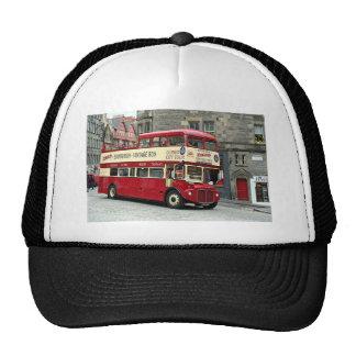 Vintage Edinburgh Tour Bus, Scotland, UK Trucker Hat