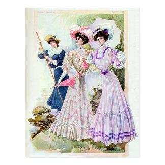 Vintage Edwardian Ladies Postcard