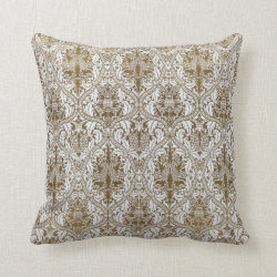 Vintage Edwardian Pillow Throw