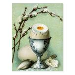 Vintage Egg in a Cup Postcard