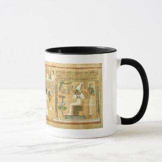Vintage Egipto antiguo Taza