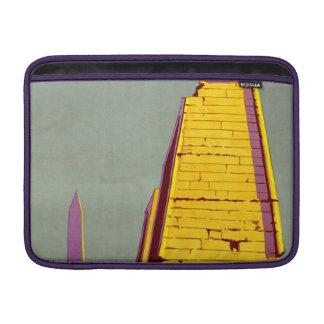 Vintage Egypt Pyramid Travel Poster MacBook Sleeves