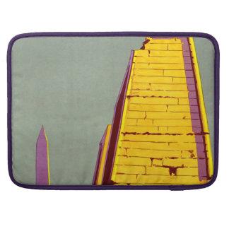 Vintage Egypt Pyramid Travel Poster Sleeve For MacBooks
