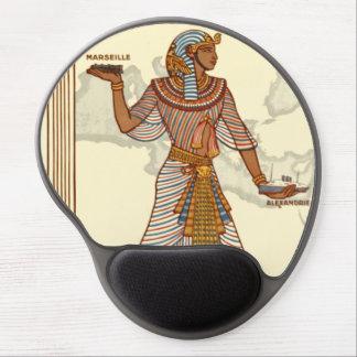 Vintage Egypt Travel Advertisement Gel Mousepad