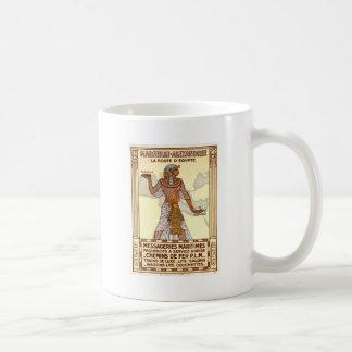 Vintage Egypt Travel Classic White Mug