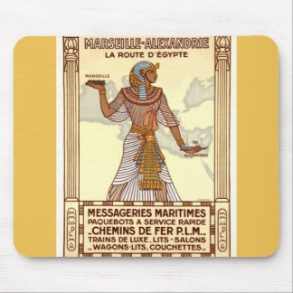 Vintage Egypt Travel Mousepad