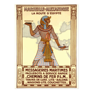 Vintage Egypt Travel Postcard