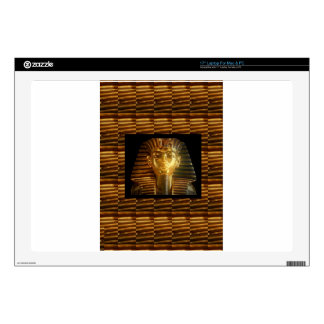 """VINTAGE Egyptian Idols Art : PYRAMIDS of ANCIENT Decals For 17"""" Laptops"""