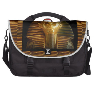 VINTAGE Egyptian Idols Art PYRAMIDS of ANCIENT Laptop Commuter Bag