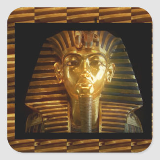 VINTAGE Egyptian Idols Art : PYRAMIDS of ANCIENT Sticker