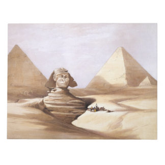Vintage Egyptian Notepad