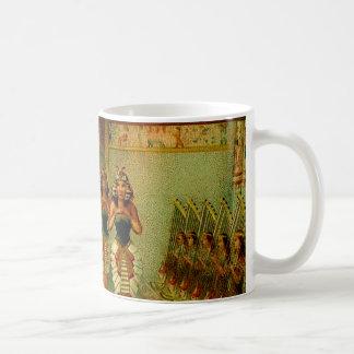 Vintage Egyptian Painting Coffee Mug