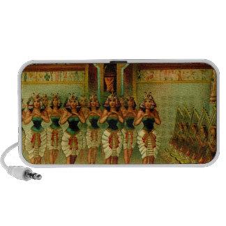 Vintage Egyptian Painting Mp3 Speaker