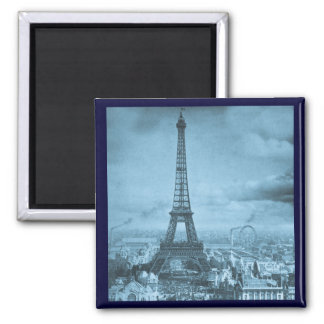 Vintage Eifel Tower Paris France  1889 Fridge Magnets