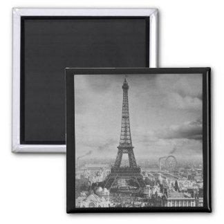 Vintage Eifel Tower Paris France  1889 Refrigerator Magnet