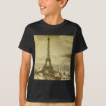Vintage Eifel Tower Paris France  1889 T-Shirt