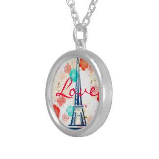 Vintage Eiffel Torre-París Collar