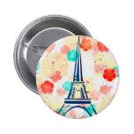 Vintage Eiffel Torre-París Pin
