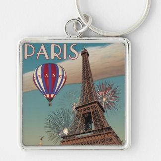 Vintage Eiffel Tower - 18x24 Keychain