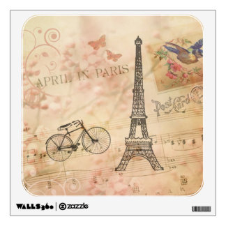 Vintage Wall Decals  Wall Stickers Zazzle - Vintage wall decals
